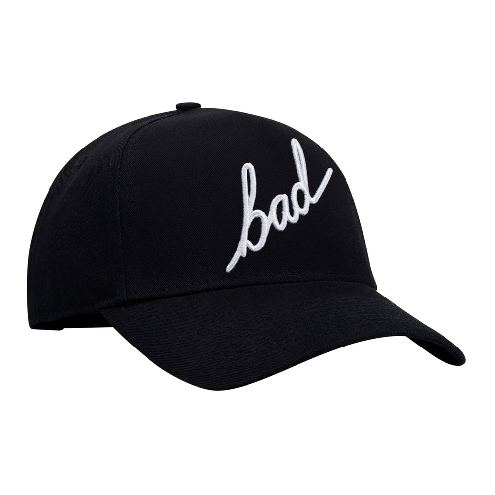 BAD SNAPBACK A-FRAME HAT WITH SCRIPT 3D EMBROIDERY - BAD WORKWEAR