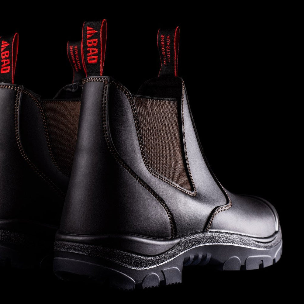 BAD SURGE™ ELASTIC SIDE SAFETY WORK BOOTS - BAD WORKWEAR