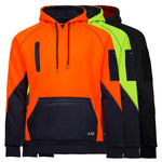 BAD® WATERPROOF RAIN-DEFEND™ HI-VIS FLEECE HOODIE