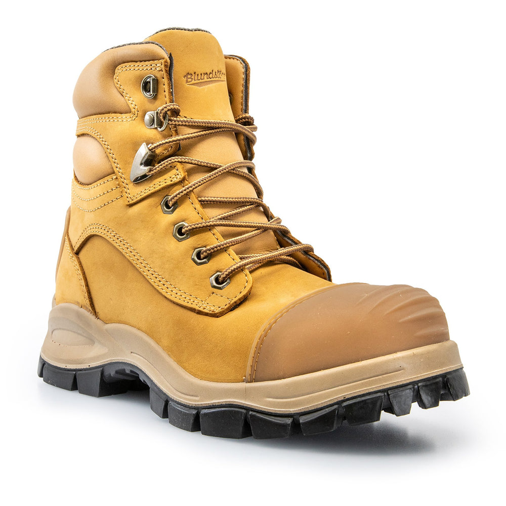 BLUNDSTONE STYLE 992 ZIP SIDE SAFETY WORK BOOTS