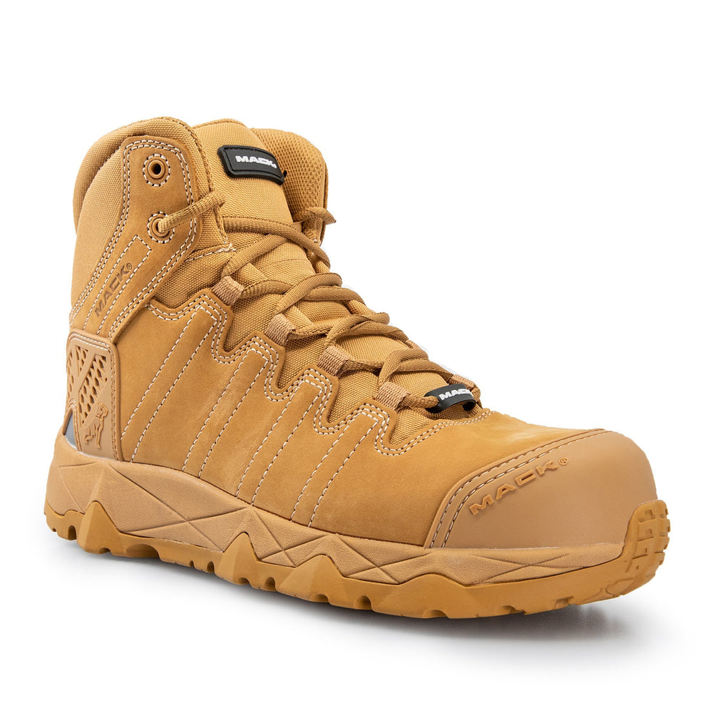MACK OCTANE ZIP SIDE SAFETY WORK BOOTS MKOCTANEZ