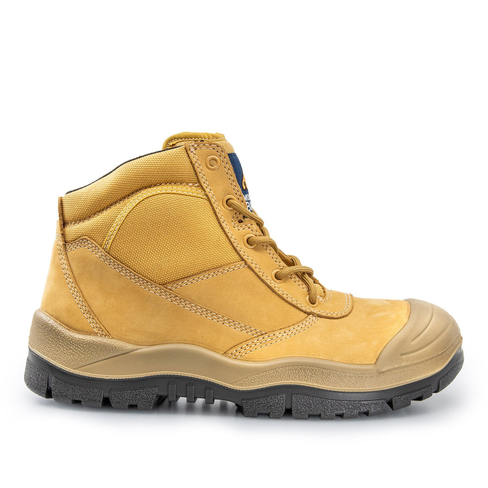 MONGREL ZIP SIDE SAFETY WORK BOOTS 261050 - BAD WORKWEAR