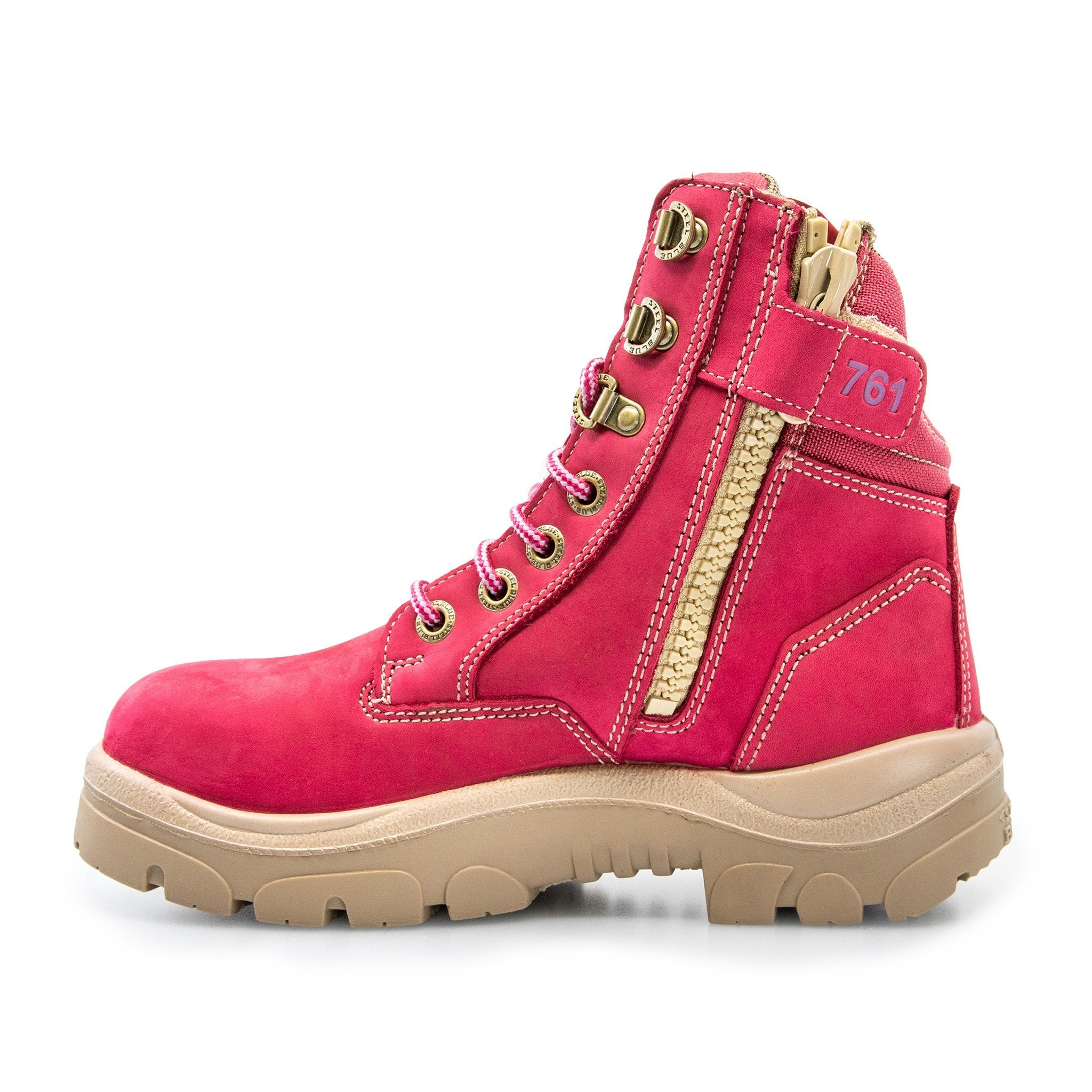 SOUTHERN CROSS ZIP LADIES' PINK BOOTS