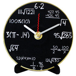 J14 Algebra Mini LP Clock