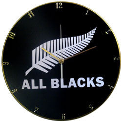 D08 All Blacks Record Clock