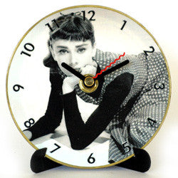 M31 Audrey Hepburn Mini LP Clock