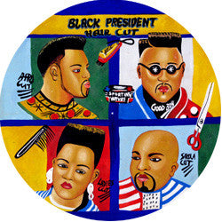 O06 Barbershop Fridge Magnet
