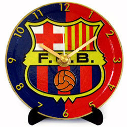 K21 Barcelona FC Mini LP Clock