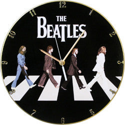 F01 The Beatles Abbey Road Record Clock