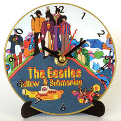 M02 Beatles Yellow Submarine Mini LP Clock
