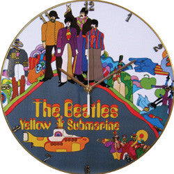 F02 The Beatles Yellow Submarine Record Clock