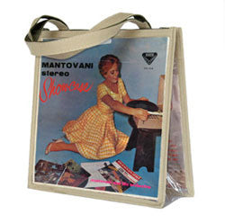 Y01 Beige LP Cover Handbag