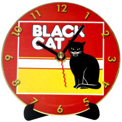 H01 Black Cat Mini LP Clock