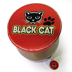 G03 Black Cat Peanut Butter Jar Seat