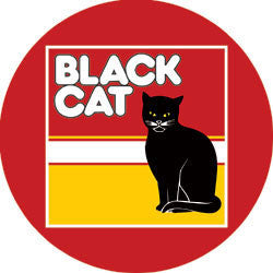 N01 Black Cat Fridge Magnet