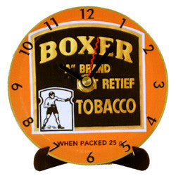 H03 Boxer Tobacco Mini LP Clock