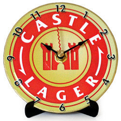 J01 Castle Lager Mini LP Clock