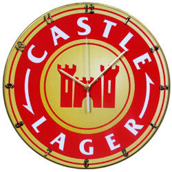 C01 Castle Lager Record Clock