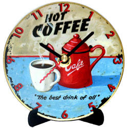 H17 Hot Coffee Mini LP Clock