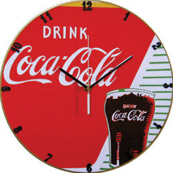 C02 Coca Cola Record Clock