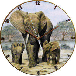 B27 Elephants Record Clock