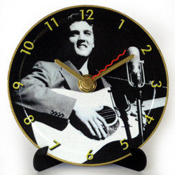 M15 Elvis Mini LP Clock