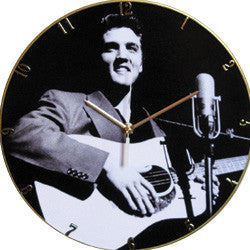 F15 Elvis Presley Record Clock