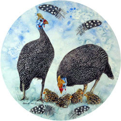 O28 Guinea Fowl Fridge Magnet
