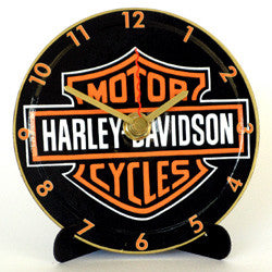 J04 Harley Davidson Mini LP Clock