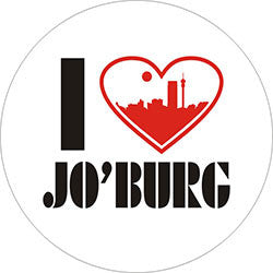 O20 I love Jo'burg Fridge Magnet