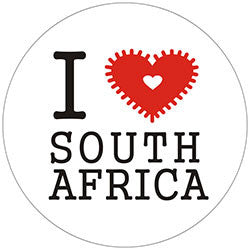 O07 I Love South Africa Fridge Magnet
