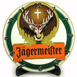 J07 Jägermeister Mini LP Clock