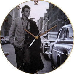 F33 James Dean Record Clock