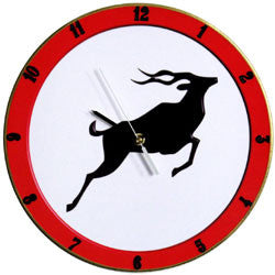 B31 Kudu Road Sign Record Clock
