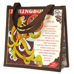 Y02 Chocolate LP Cover Handbag