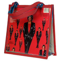 Y05 Red LP Cover Handbag