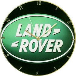 C09 Land Rover Record Clock