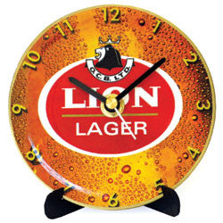 J08 Lion Lager Mini LP Clock
