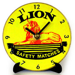H09 Lion Match Mini LP Clock