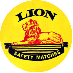 N09 Lion Match Fridge Magnet