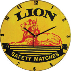 A09 Lion Match Record Clock