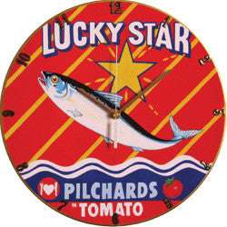 A10 Lucky Star Record Clock