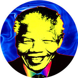 O01 Madiba Blue Fridge Magnet