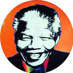 O03 Madiba Orange Fridge Magnet