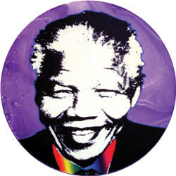 O02 Madiba Purple Fridge Magnet