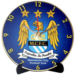 K17 Manchester City Mini LP Clock
