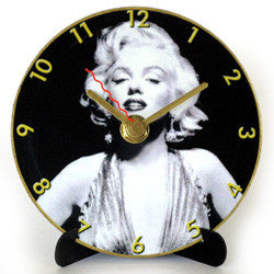 M32 Marilyn Monroe Mini LP Clock