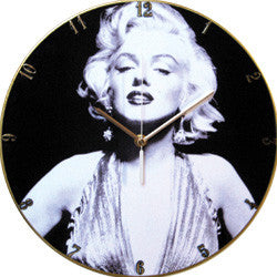 F32 Marilyn Monroe Record Clock