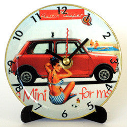 L25 Mini Cooper Mini LP Clock
