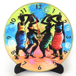I22 Moleke Dance Mini LP Clock